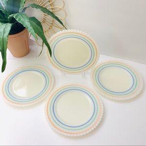 Vintage | Macbeth Evans 8 Inch Petalware Plates